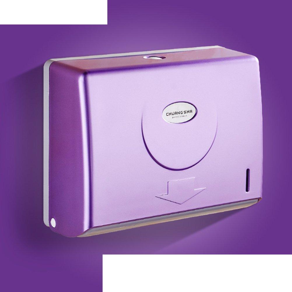 Bathroom hanging plastic box/Box/Toilet tray/Bathroom tissue paper holder and waterproof paper/ plastic paper towel rack-E