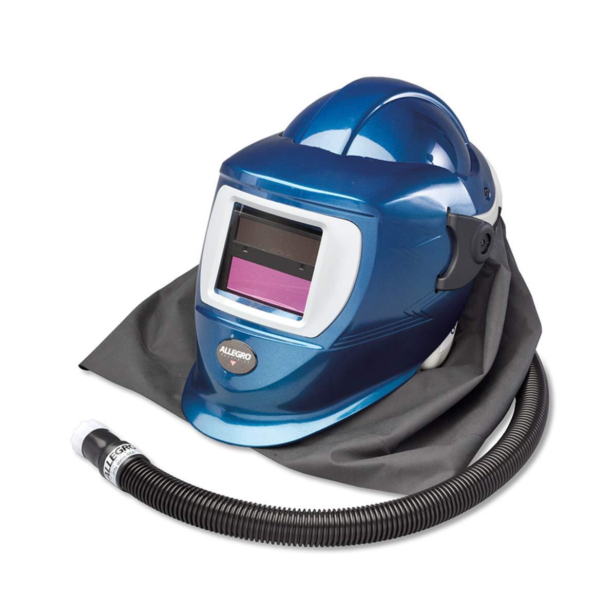 Allegro Industries ABS Low Pressure Deluxe Welding Helmet With Adapter