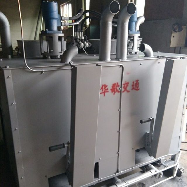 High quality Diesel engine hydraulic thermoplastic road marking preheater