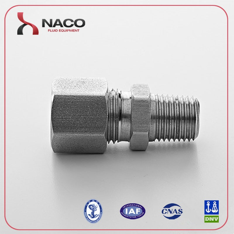 316l Stainless steel pipe fitting water hydraulic quick release coupling