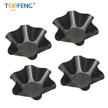 tortilla pan set of 4 with non-stick coating