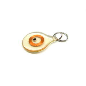 Custom Shape Transparent Clear RFID NFC Coin Tag