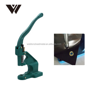 Weldon high quality metal manual grommet machine hand press eyelets punch tool for making banner flag