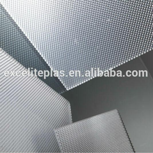 Kekuatan Dampak Tinggi Yang Fleksibel 3 Mm Plastik Bening