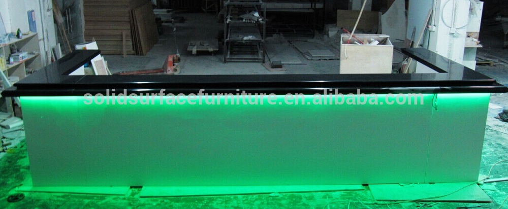 Modern Commercial Decoration Marble Materials Bar Furniture For ...