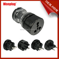 4 in 1 travel adapter and converter plug for more than 150 countries