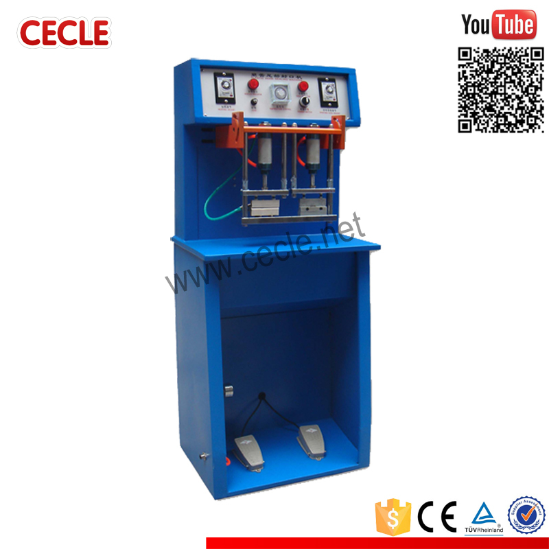 TS-80 factory manual cosmetic tube sealing machine