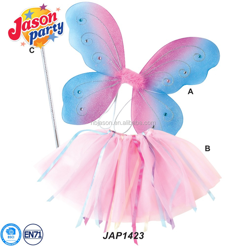 Sugar Plum Children Fairy Ballet Tutu Costume Baby dresses with butterfly