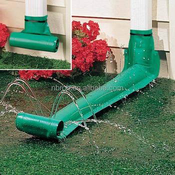 Pvc Garden Tool Of Automatic Downspout Extension,9-feet,Green - Buy ...