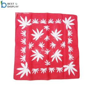 Fans cheering sport square cotton polyester cheap bandanas headband custom logo printed bandanas