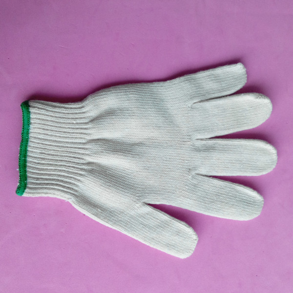 cotton glove knitting machine/weight lifting gloves