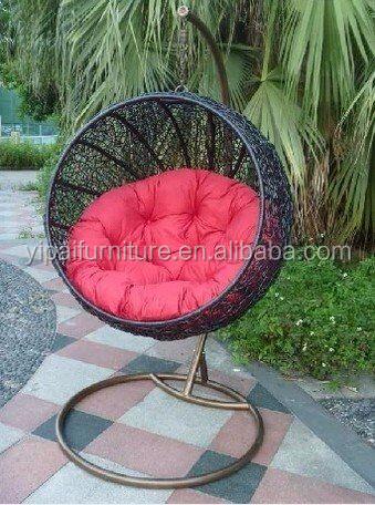 Cheap Price Indoor Outdoor Patio Rattan Wicker Hanging Egg