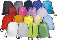 Small waterproof soprts drawstring bags