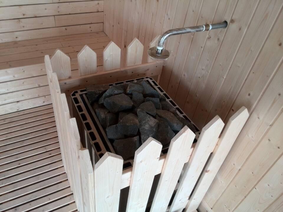Spa Equipment Wood Steam Sauna Room With Sauna Heater