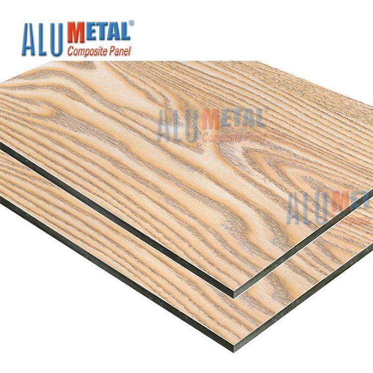 China Aluminium Wood Cladding ACP Manufacturers