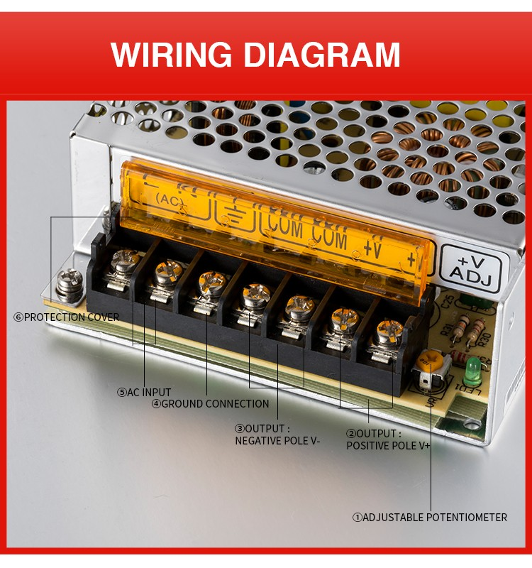 Stable Dc Voltage Source 12v Open Frame 120w Ac/dc Power Supply - Buy on