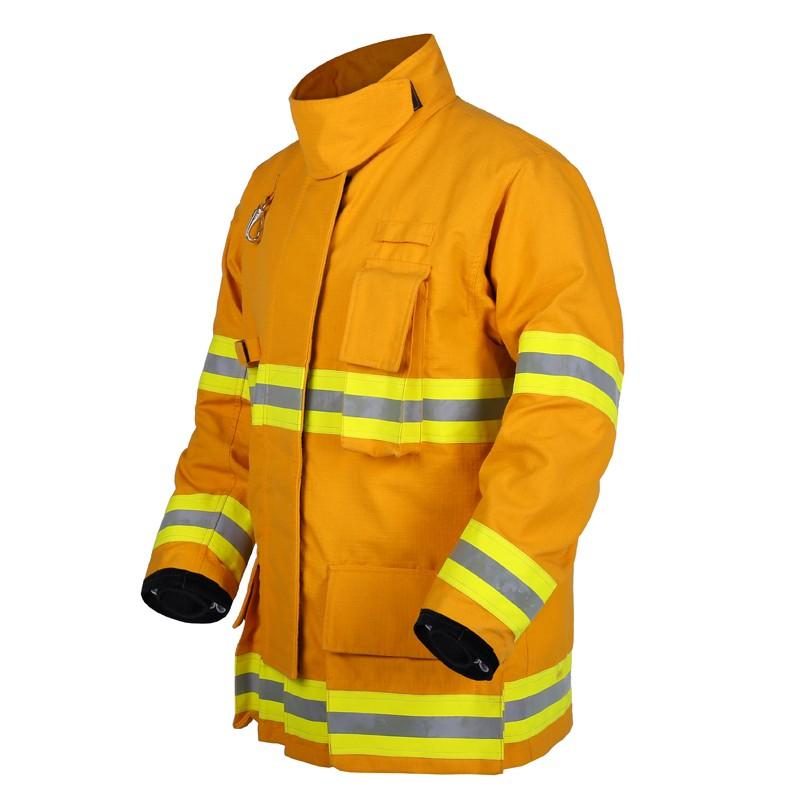 Chaqueta de parada bomberos