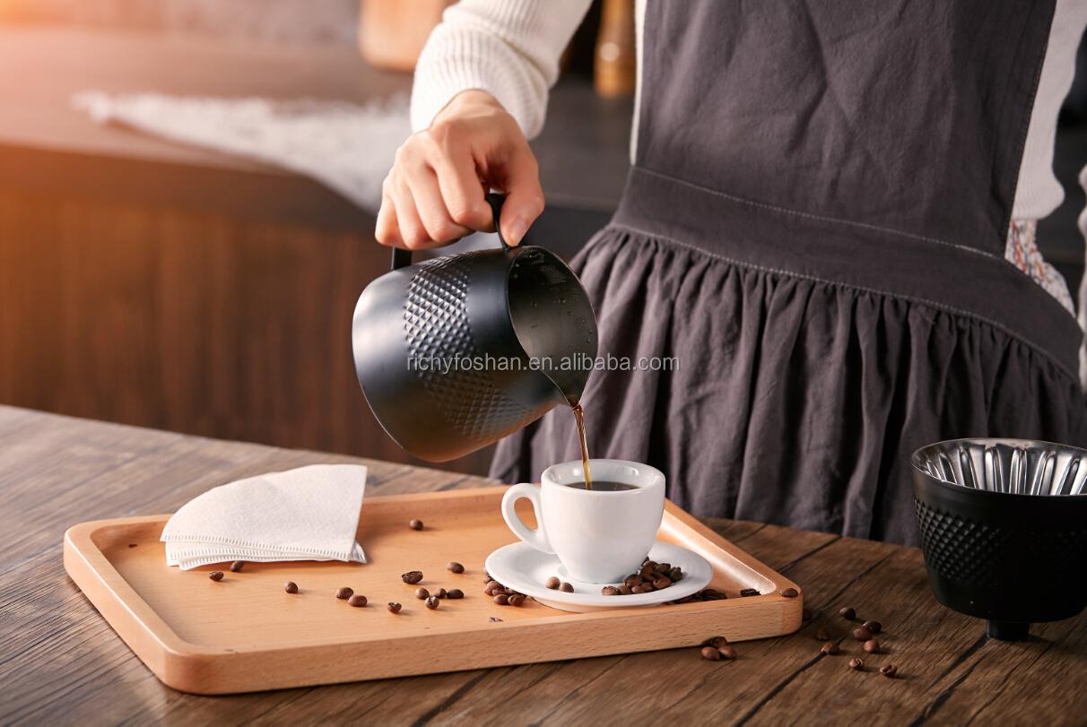 barista machine 0.6L pour over  tea coffee  gooseneck kettle with temperature control