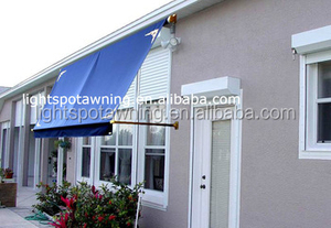 Prefab detachable outdoor foldable awning