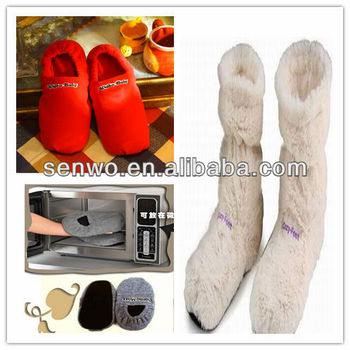 f645ca58a77b Hot Booties microwave Slipper - Buy Hot Microwave Slipper ...