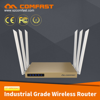 2017 Hot Seller COMFAST CF-WR635AC 750Mbps Dual Band 128M DDR 3PA Commercial Wireless Router/Configure Wifi Router
