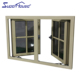 China supplier high quality double glass aluminum window