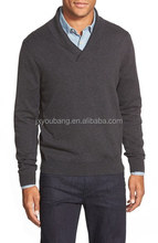 Cotton & Cashmere Shawl Collar Sweater