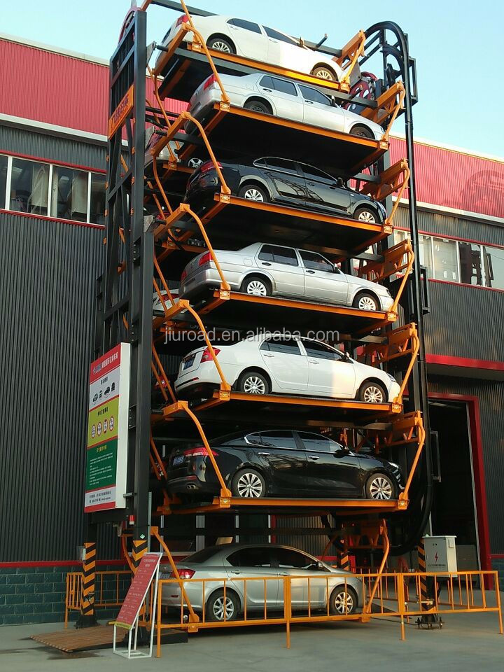 smart automatic vertical rotary German technology parking system