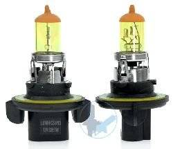 GOLDEN YELLOW 100w ONE PAIR XENON GAS FILLED H13 HIGH/LOW Beam light bulbs for 05 06 07 08 Chrysler Town & Country LX, Touring, LTD/ 07 08 09 10 11 12 Dodge Caliber/ 09 10 11 12 Dodge Challenger/ 05 06 07 08 09 10 Dodge Dakota