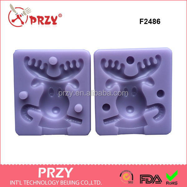 F2486 Mold silicone for fondants & candy mold making