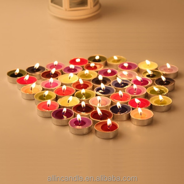 Costume aroma candles free sample tea light candle