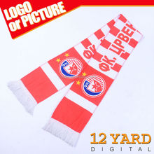 Exquisite custom latest designs best-selling 100% polyester sports scarf