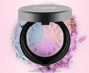 2016 hot sale cosmetics factory 3colors mineral grinding polishing compact Loose Powder Foundation Powder