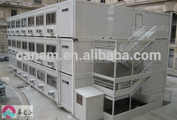 20ft modular prefab container house with ISO cetificate