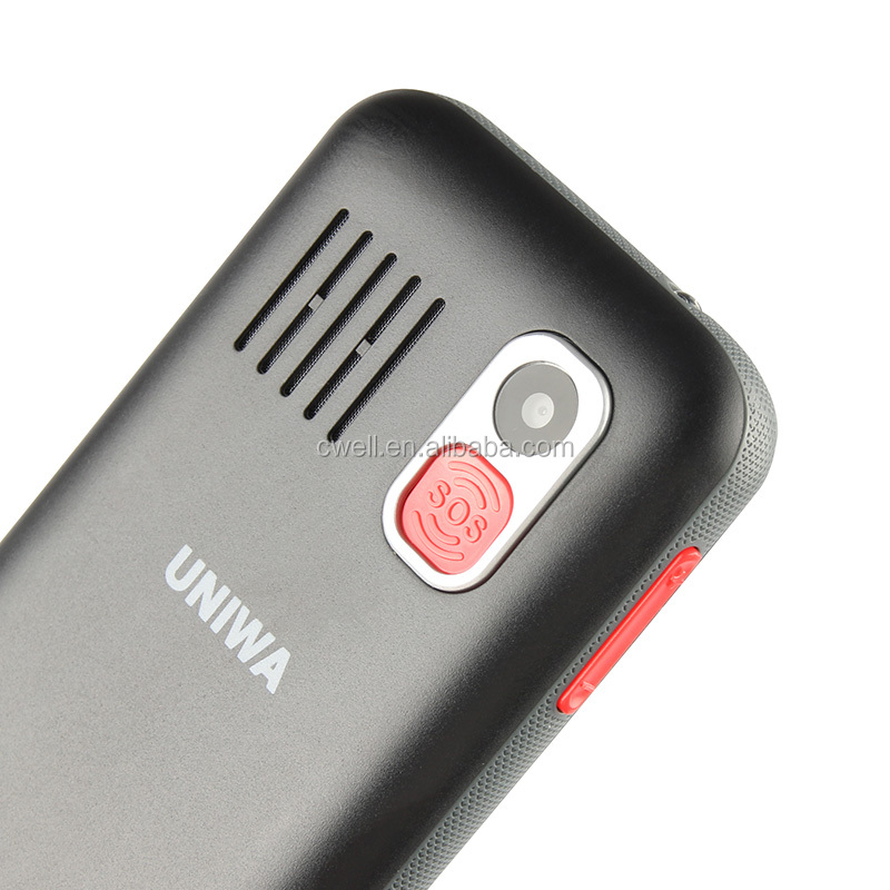 Uniwa V808g 2.3 inch Mobile Phone Elderly 3G WCDMA Senior Phone