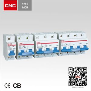 Miniature Circuit Breaker YCB1-125 CNC csp oil immersed circuit breaker mcb 6kA