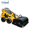 China high quality cheap price TL323 mini hydraulic skid steer track loader