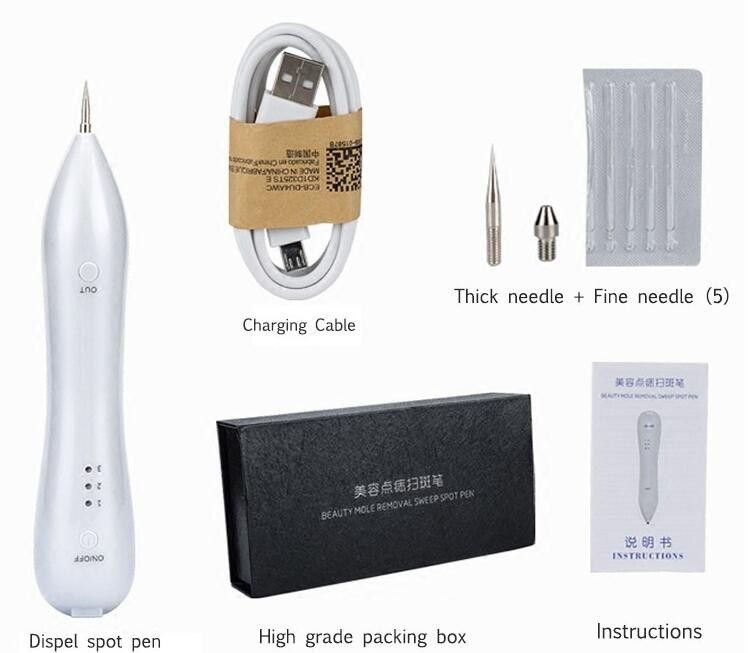 freckle removal pen/LED mole removal machine/Laser spot removal pen