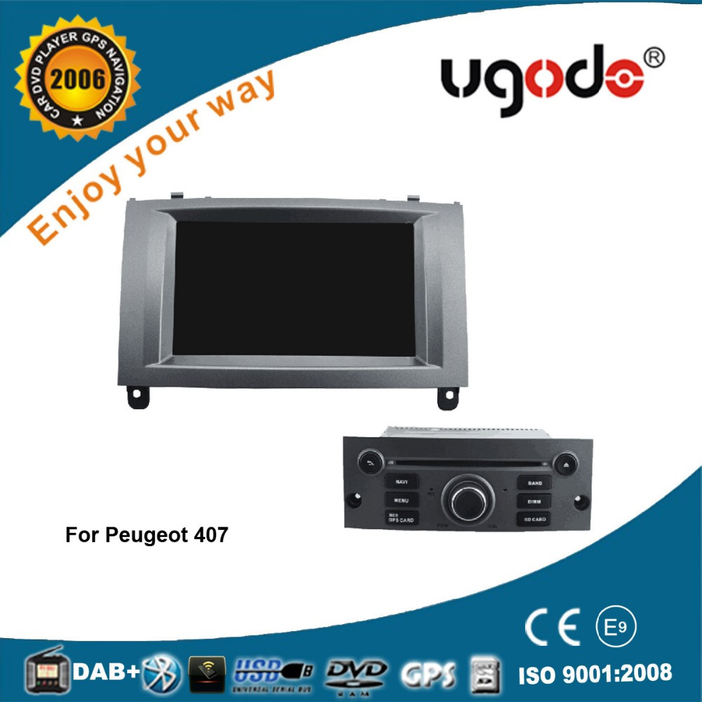 Wholesale high quality android car dvd gps navigation for peugeot 407/408