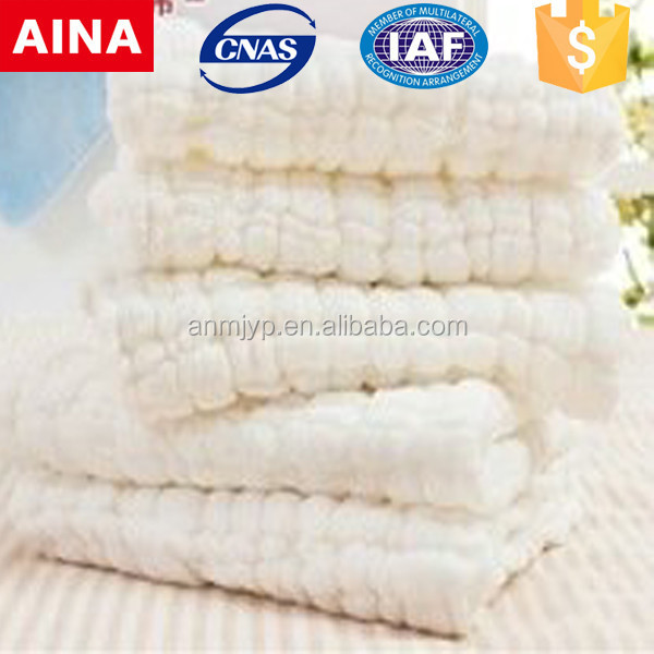 Towels' company high quality 100% cotton Jacquard weave white pareo towel