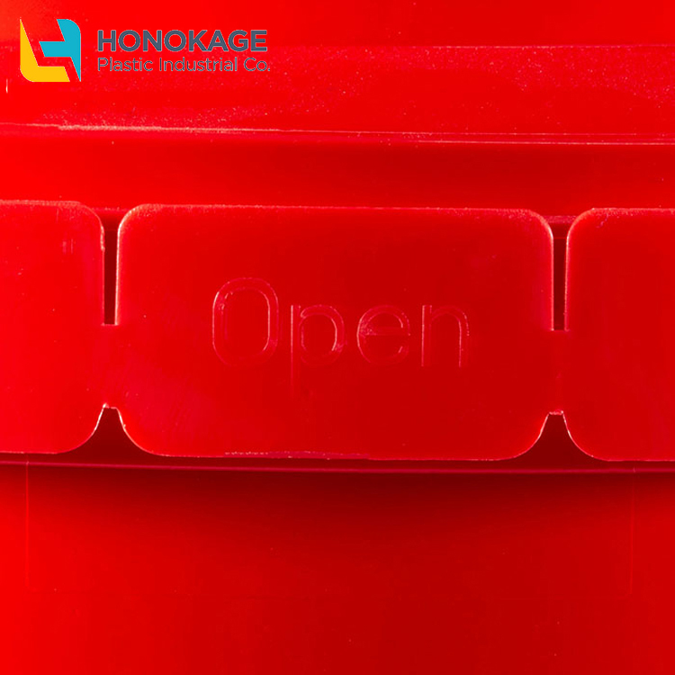 ידידותי לסביבה IML 1.25 גלון עגול pp מזון מיכל custom ביסקוויט קוקי אריזת קופסא פלסטיק קוקי מיכל