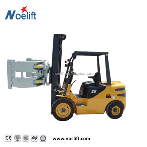 IC high lift 3.0t With Paper Roll Clamp / Rotating Clamp Diesel Forklift Truck
