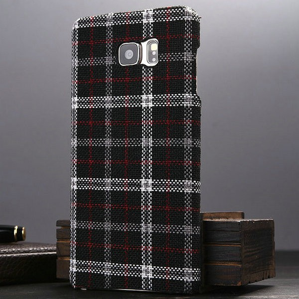 Wholesale luxury for Samsung galaxy note 5 case,for samsung galaxy note 5 luxury wallet case with England Grid pattern