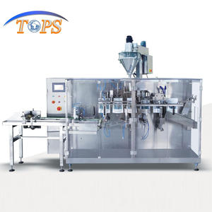 rice packing machine 240-300 Bag /Minute Horizontal Automatic packing machine spout pouch filling machine