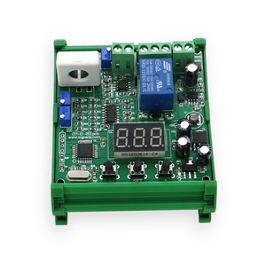Linear analog output overcurrent module 50A 10a transmitter hall effect dc current sensor