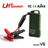 Manufacturer of 12000mAh 12 volt lithium ion battery Ignition Starter emergency jump starter with LED light generator