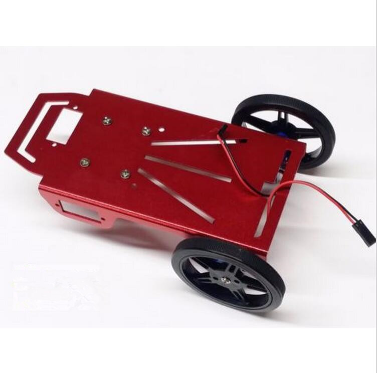 Mini DIY Robotic Platform Multifunction Robby aluminum car chassis