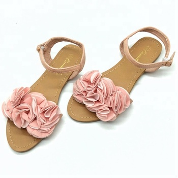0bd4273e62d High quality summer fashion low price women flat sandals fancy sandal with  flower 2018