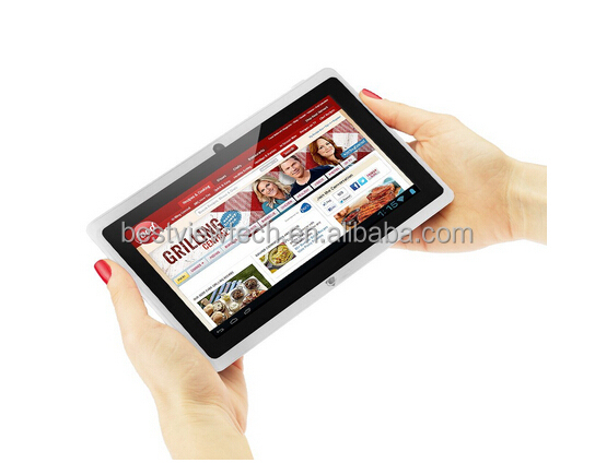 2017 low price 2000mAh battery allwinner quad core 7 inch call-touch smart tablet pc