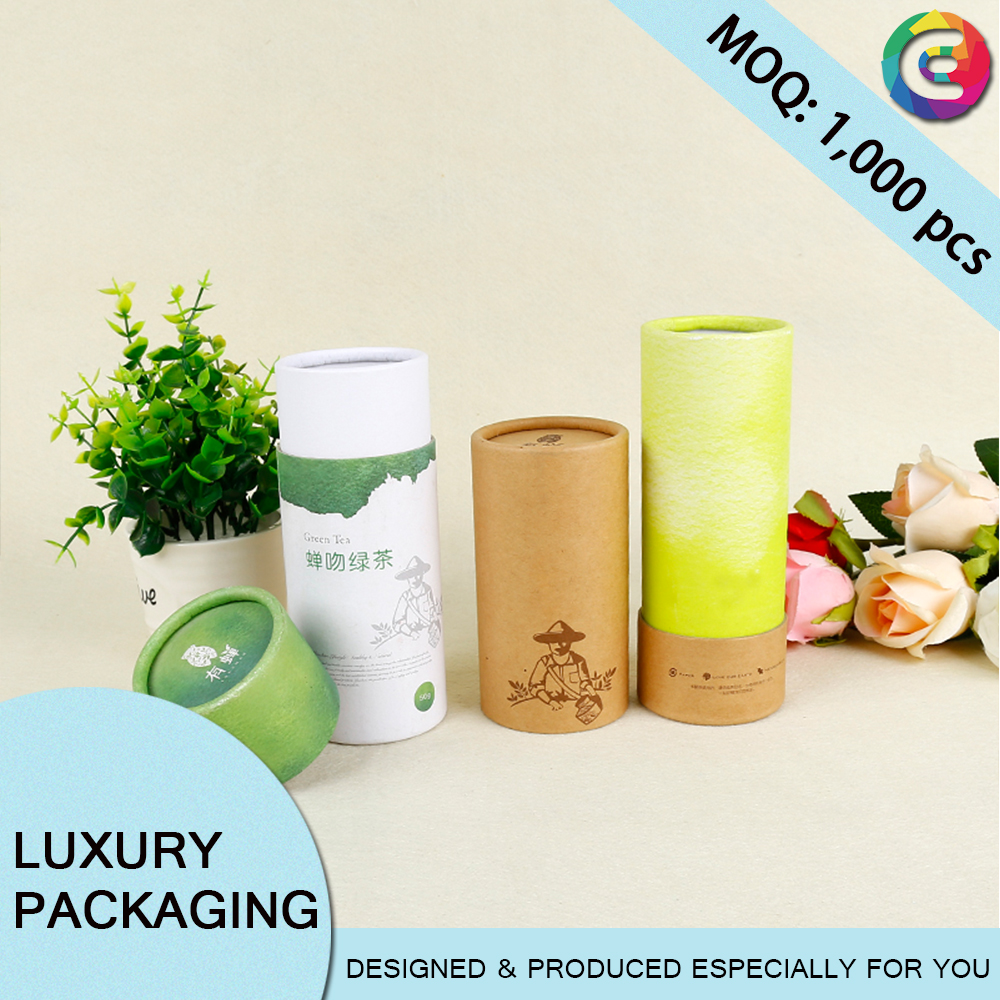 round cardboard boxes, round carton box, custom printed paper tube